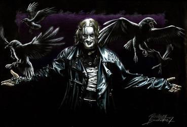 Brandon Lee The Crow by Buchemi
