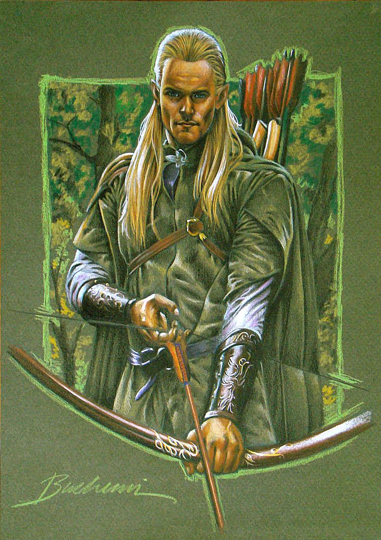 Legolas by Buchemi