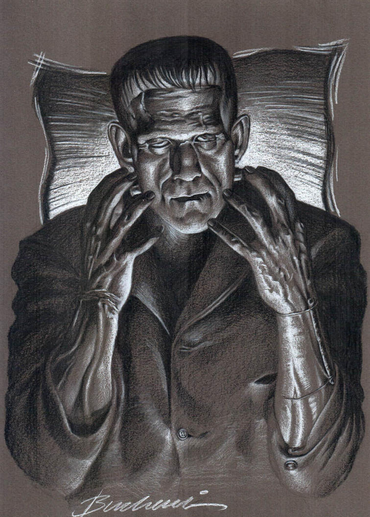 Mr Boris Karlof Frankenstein by Buchemi