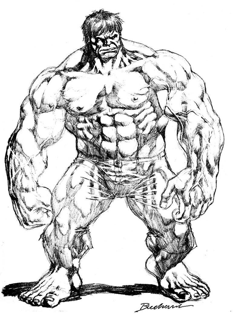 Hulk Face Line Drawing : Hulk by buchemi on deviantart