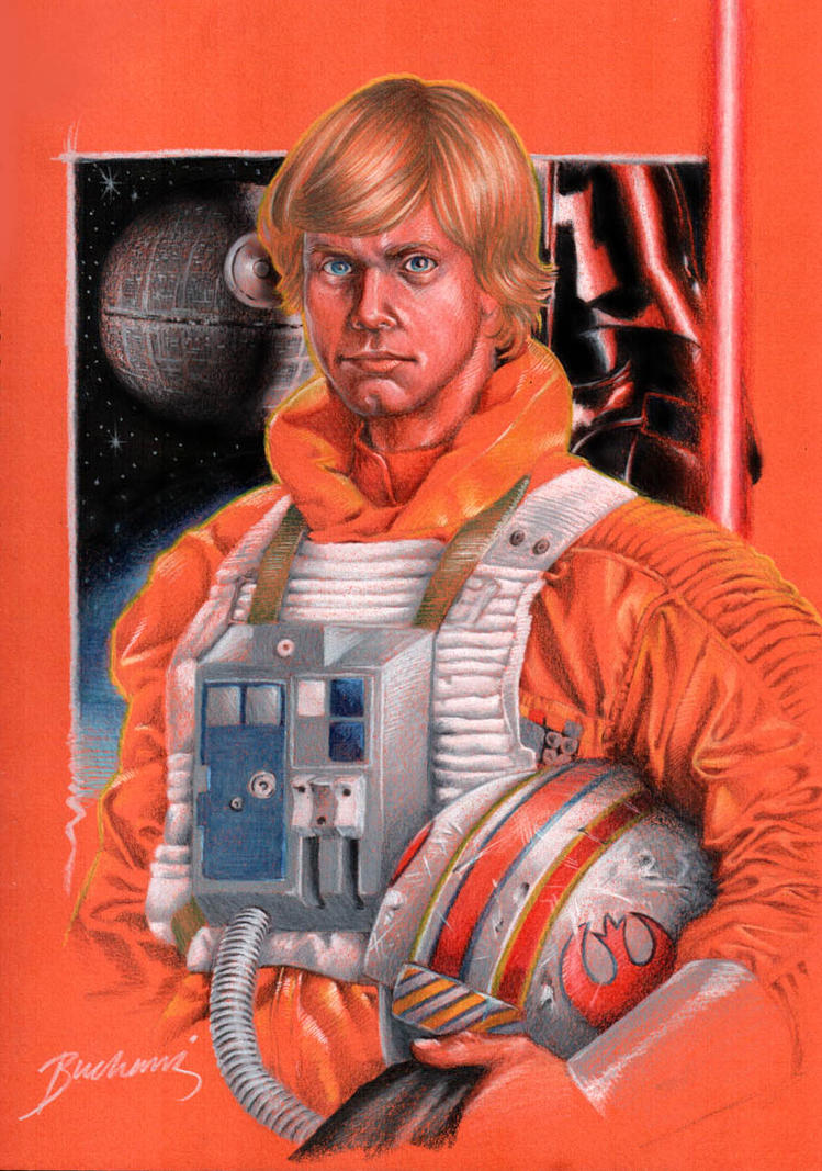 Luke Skywalker by Buchemi