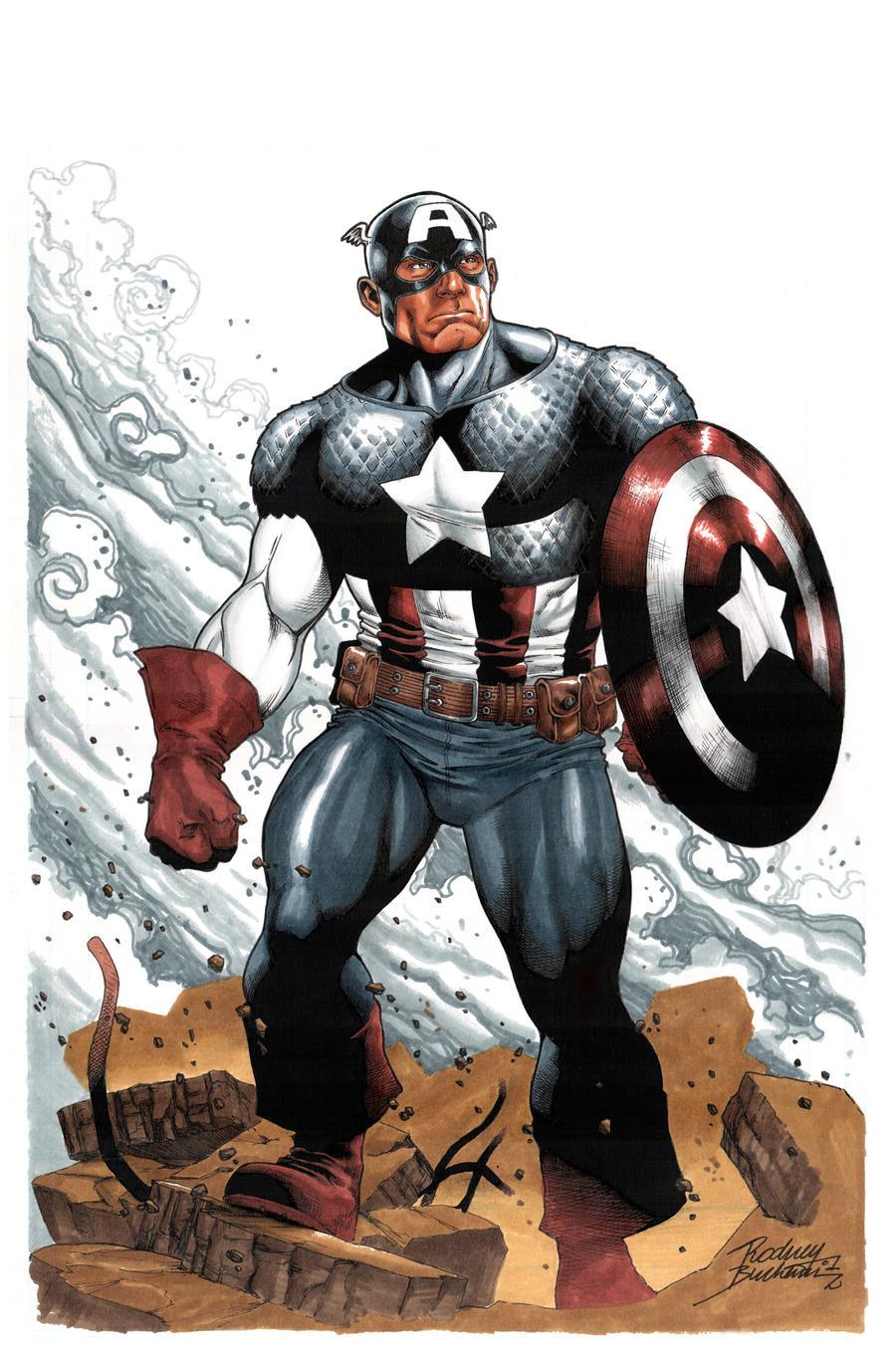 Captain America commission by Buchemi