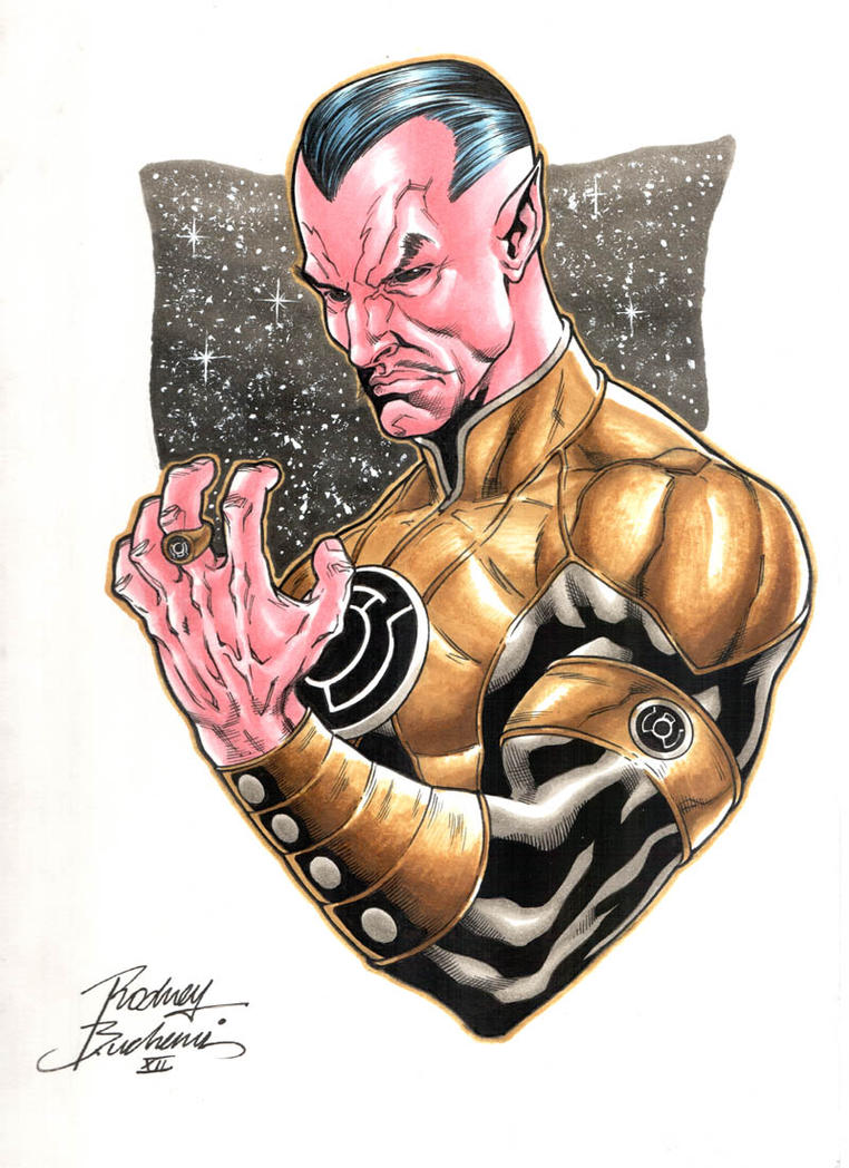Sinestro by Buchemi