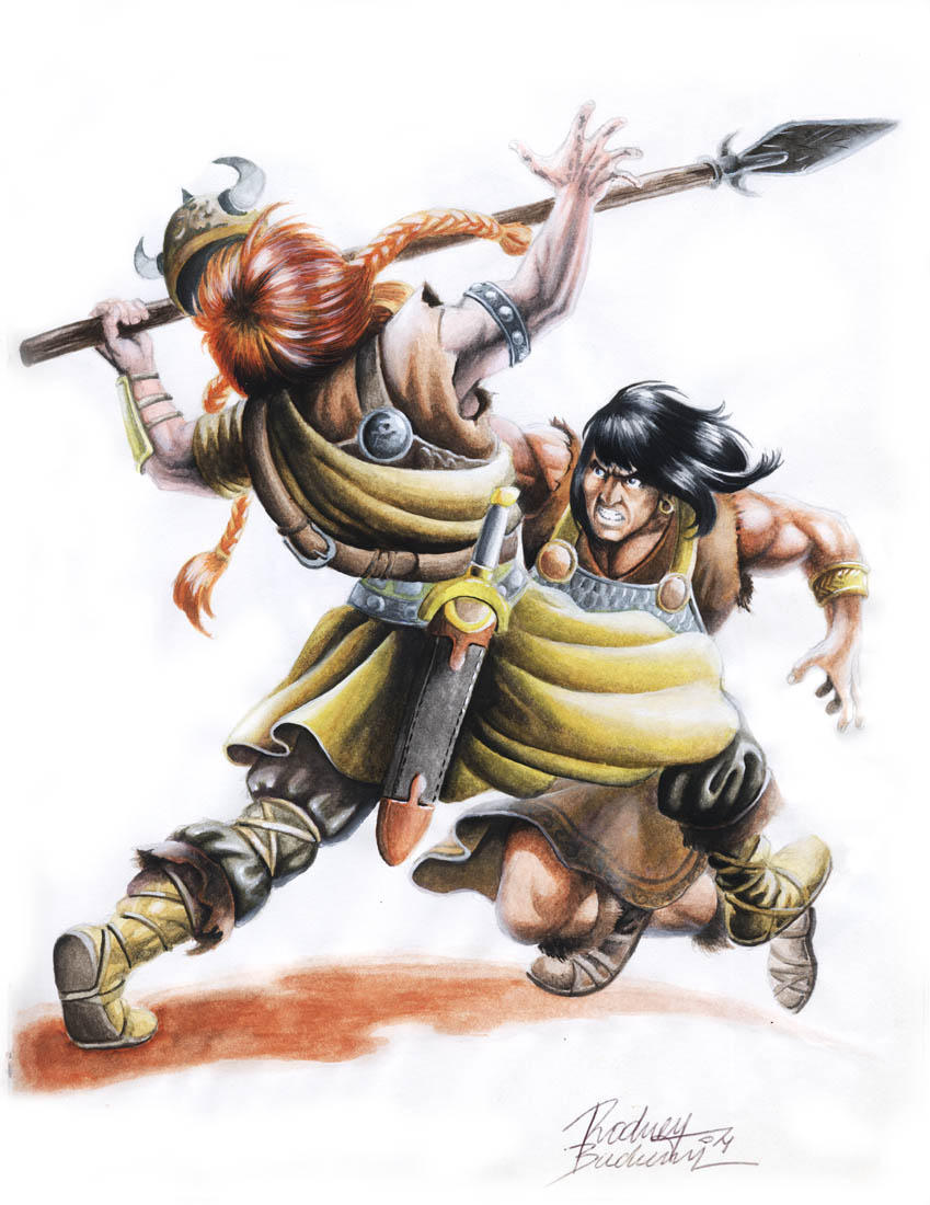 Conan by Buchemi