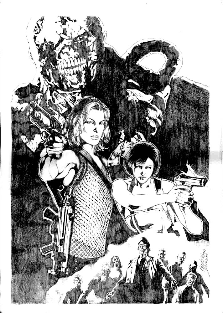 Resident Evil by Buchemi