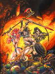 Conan, Belit and Sonja