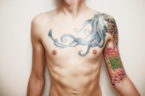 Vector squid tattoo by reignbow massacre on deviantart for Tenth street tattoo