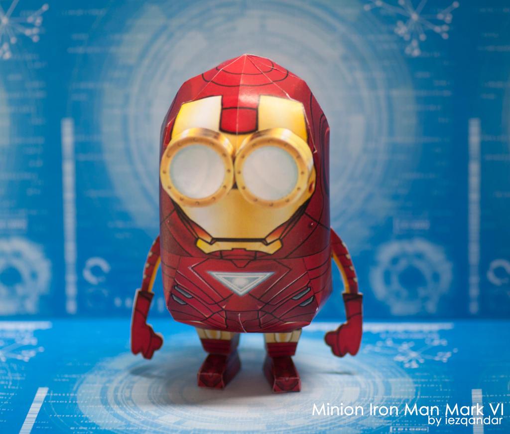Minion Iron Man Mark VI by iEzQaNDaR