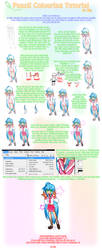 Pencil Colouring Tutorial by Rin-shi