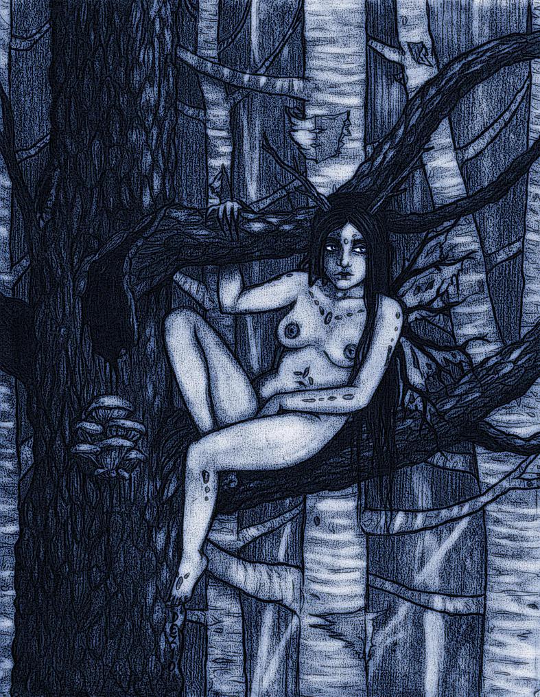 Tree Fairy by deadgirl333