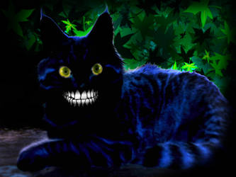 Cheshire Cat by deadgirl333