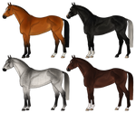 Warmblood Adopts [2/4 Open] PRICE REDUCED