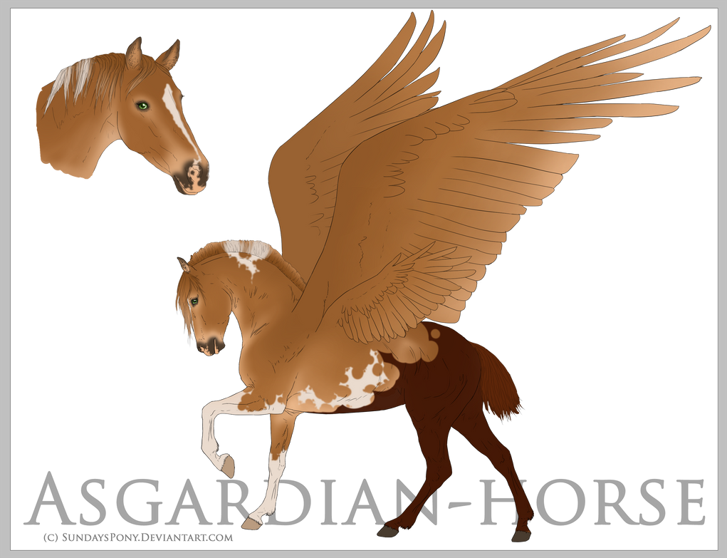 Asgardian Horse Import OPEN by AltairCallisto on DeviantArt