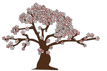 Cherry Tree Vector - Sakura by dutchscout