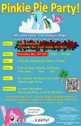 Pinkie Party Flyer by dutchscout