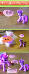 Ask Brushable Fluttershy - Twilight's Warning by dutchscout