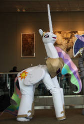 Life-size Celestia Cosplay - ECCC by dutchscout
