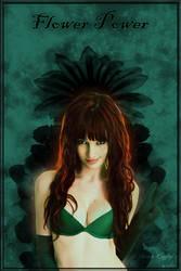 Poison Ivy -Susan Coffey Fan by MadOfPuppets