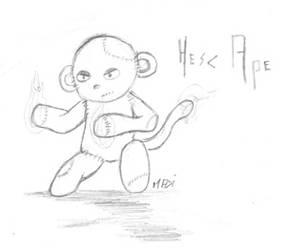 Hesc Ape by MadOfPuppets