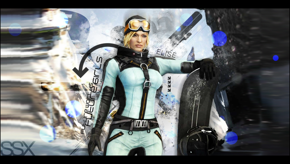 Elise from SSX by MadOfPuppets