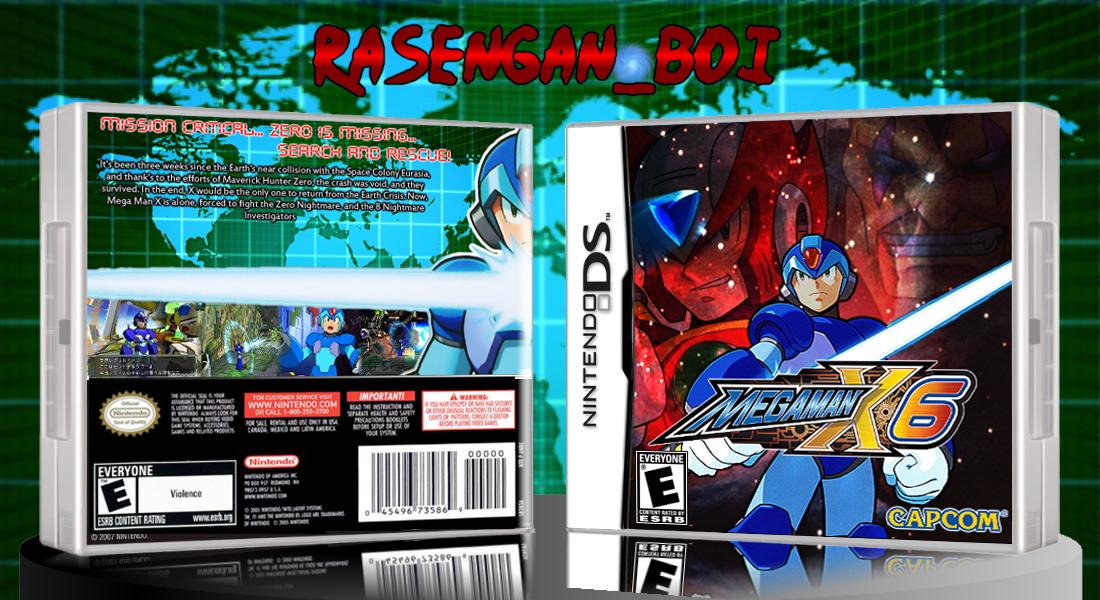 Mega Man X6 Ds By Arby Works On Deviantart