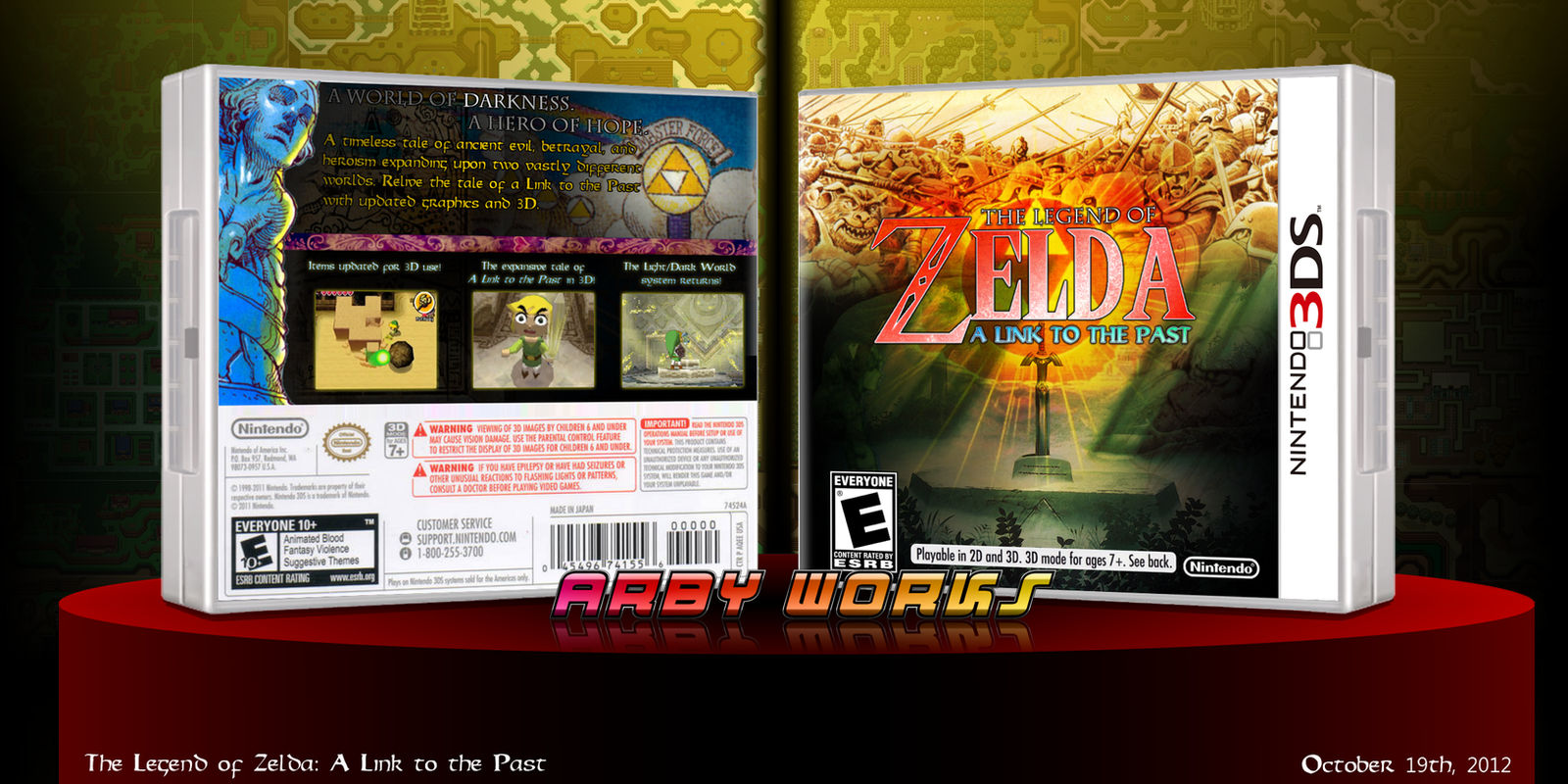 The Legend of Zelda: A Link to the Past 3D by Arby-Works on