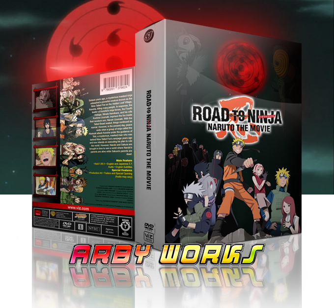 road to ninja naruto the movie case by arbyworks on