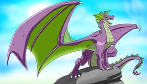 Majestic Dragon Spike