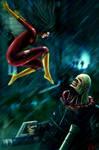 Spider-woman vs Nemesis T-Type
