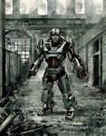Robot post apocalyptic