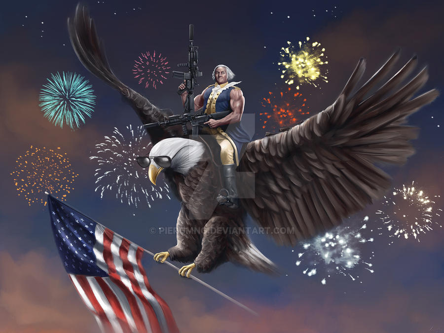 George Washington by PlER0