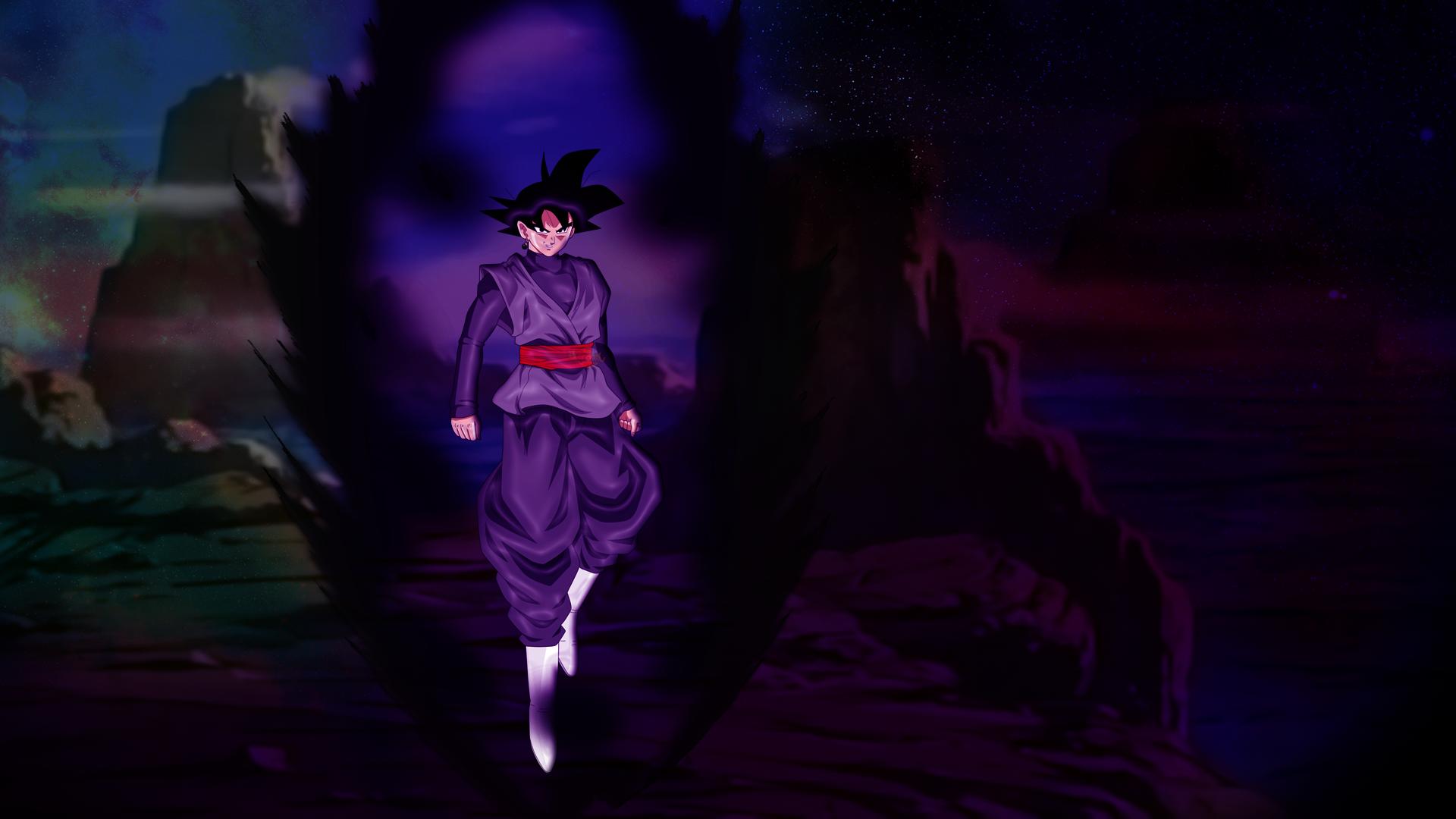 Black Goku Wallpaper By Zen Aku1 On Deviantart