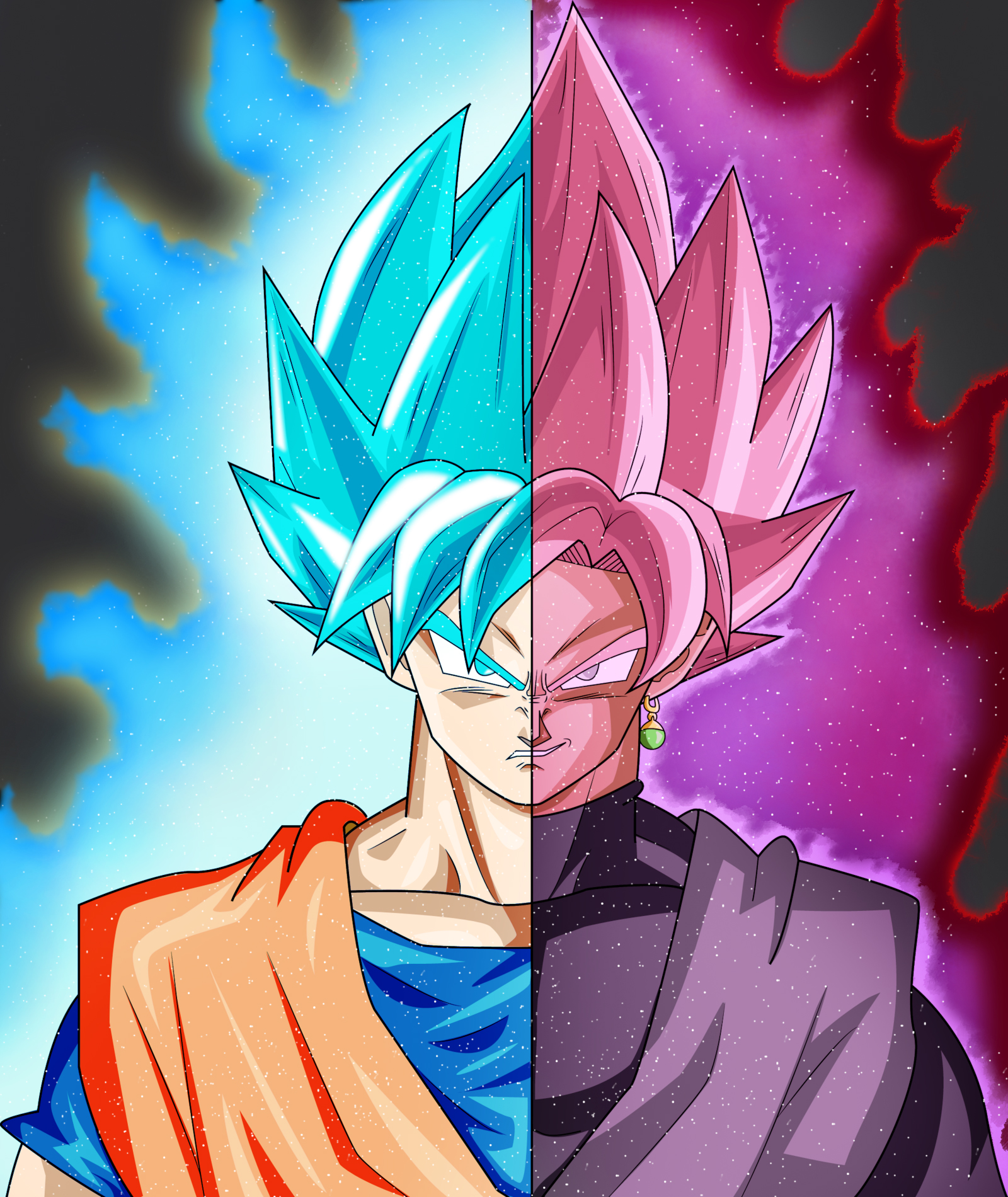 Goku And Goku Black By Zen-aku1 On DeviantArt