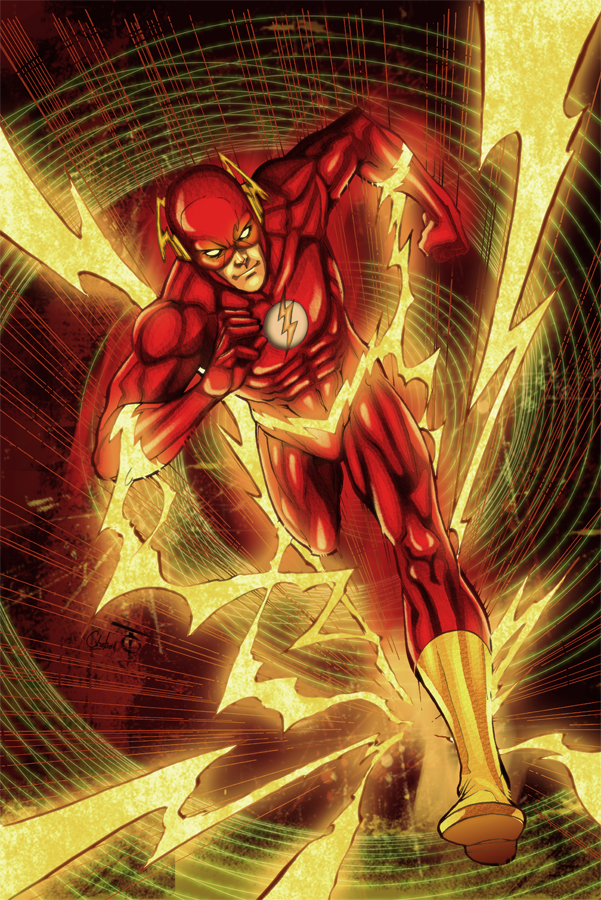 Dc Comics Fans : Flash by ch hell sea on deviantart
