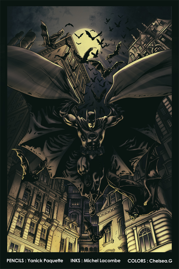 Batmans Jump by Ch-Hell-Sea