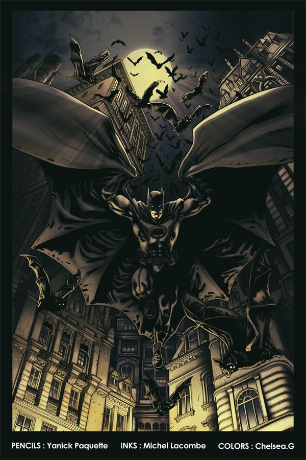 Batmans Jump by Ch-Hell-Sea
