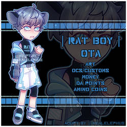 Rat Boy - OTA OPEN