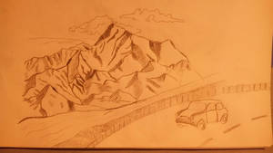 My mountains drawing