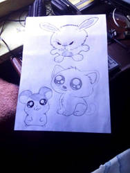 My cute pets drawing