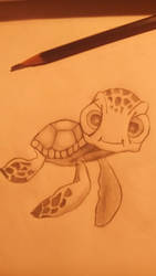 My cute turtle drawing by expirat-ro