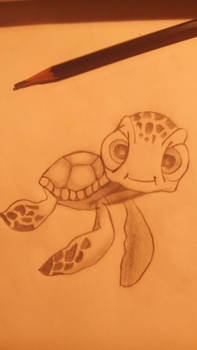 My cute turtle drawing