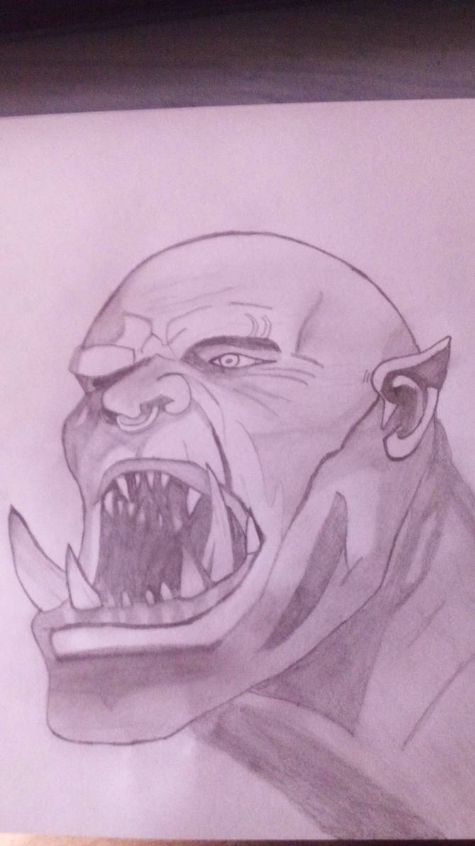 My Garrosh Hellscream drawing