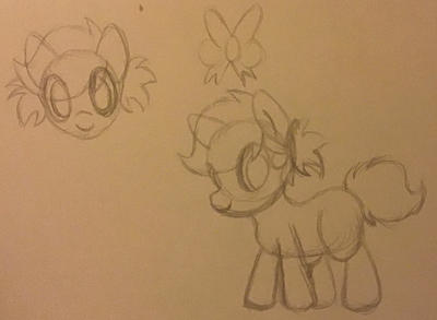 New daughter between my OC and Pinkie