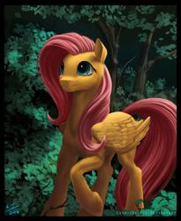Forest Fluttershy by CosmicKelpie