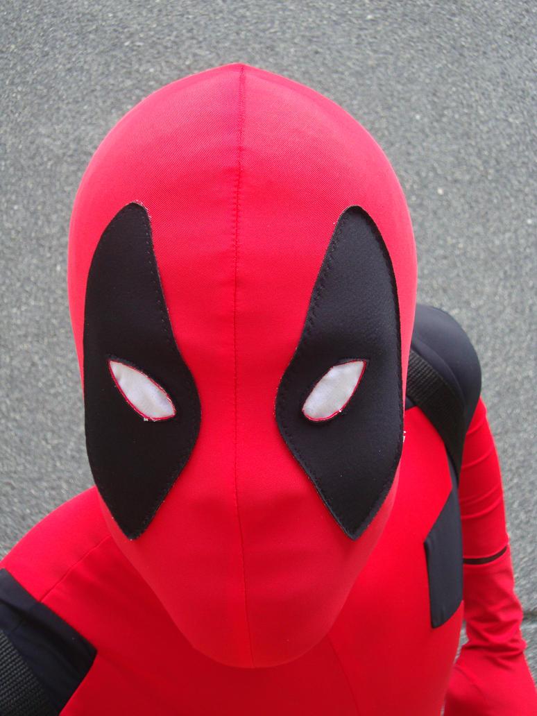 Косплееры ку-ку. Делитесь выкройками для маски Дэдпула!) Deadpool 78