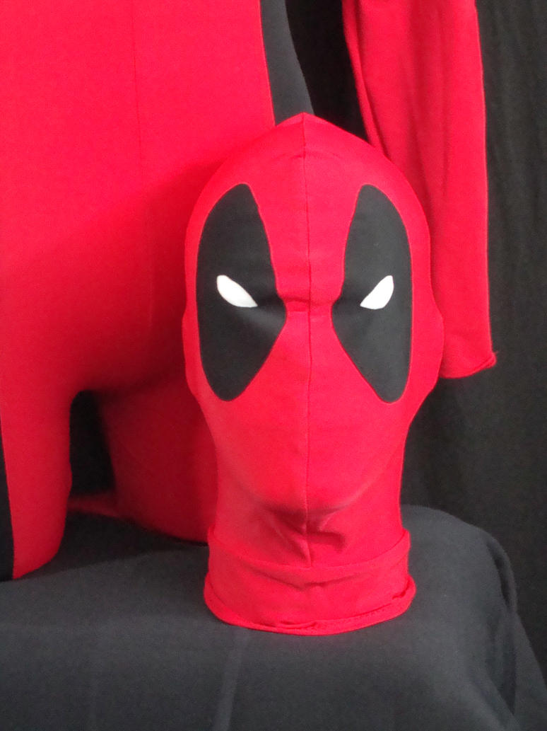 Deadpool Mask by Idzerda on deviantART