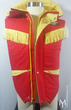 Kyoryu red vest front