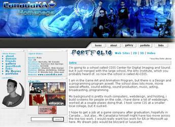 Personal Homepage by canadaka