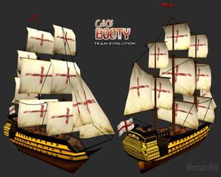 Man-of-War Merchant Ship by canadaka