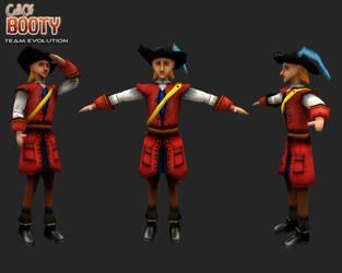 Flamboyant Pirate by canadaka